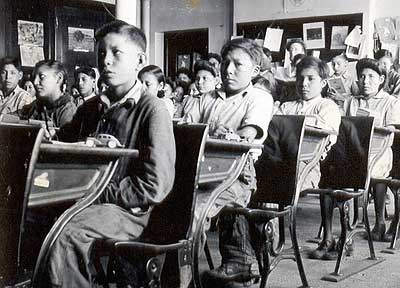 Old Sun Indian Residential School, Gleichen, Alberta - 1945